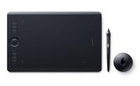 Wacom Intuos Pro 5080lpi 224 x 148mm USB/Bluetooth Schwarz Grafiktablett (Schwarz)