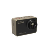 ACTIVEON CX Gold Plus 14MP Full HD CMOS WLAN Actionsport-Kamera (Schwarz, Gold)