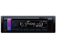JVC KD-R881BT Bluetooth Schwarz Auto Media-Receiver (Schwarz)