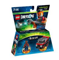 Warner Bros LEGO Dimensions: The A Team Fun Pack 2Stück(e) Mehrfarben Baufigur (Mehrfarben)