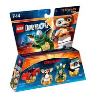 Warner Bros LEGO Dimensions: Gremlins Team Pack 4Stück(e) Mehrfarben Baufigur (Mehrfarben)