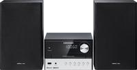 Grundig CMS 1000 BT Micro-Set 30W Schwarz, Silber Home-Stereoanlage (Schwarz, Silber)