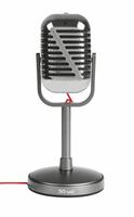 Trust 21670 PC microphone Verkabelt Metallisch Mikrofon (Metallisch)