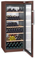 Liebherr 998456551 Freistehend Thermoelektrische Weinkühler Braun 201Flasche(n) A+ Weinkühler
