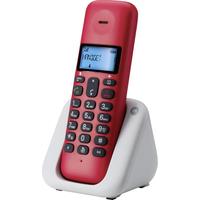 Motorola T301 DECT Anrufer-Identifikation Schwarz, Rot, Weiß (Schwarz, Rot, Weiß)