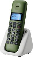 Motorola T301 DECT Anrufer-Identifikation Schwarz, Weiß (Schwarz, Olive, Weiß)