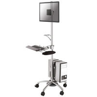 Newstar Mobile work station (Silber)