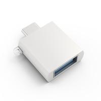 Satechi ST-TCUAS USB C USB A Silber Kabelschnittstellen-/adapter (Silber)