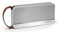 Thomson WS02 Stereo 12W Rechteck Weiß Tragbarer Lautsprecher (Aluminium, Weiß)