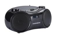 Thomson RCD210U Digital 5W Schwarz CD-Radio (Schwarz)