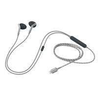 Libratone Q Adapt im Ohr Binaural Verkabelt Schwarz, Silber Mobiles Headset (Schwarz, Silber)