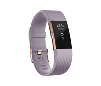 Fitbit Charge 2 Wristband activity tracker OLED Kabellos Gold,Pink (Gold, Pink)