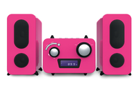 Bigben Interactive MCD11RSSTICK Home audio micro system Pink Home-Stereoanlage (Pink)
