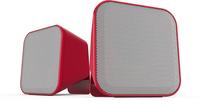 SPEEDLINK SNAPPY 6W Rot, Weiß Lautsprecher (Rot, Weiß)