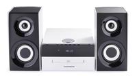 Bigben Interactive MIC301BT Micro-Set 75W Schwarz, Weiß Home-Stereoanlage (Schwarz, Weiß)