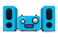 Bigben Interactive MCD11BLSTICK Home audio micro system Blau Home-Stereoanlage (Blau)