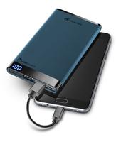 Cellularline 37883 Lithium Polymer (LiPo) 6000mAh Blau Akkuladegerät (Blau)