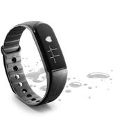 Cellularline Easy Fit HR Wristband activity tracker Kabellos IP54 Schwarz (Schwarz)