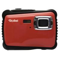 Rollei Sportsline 65 Kompaktkamera 5MP CMOS 2592 x 1944Pixel Schwarz, Rot (Schwarz, Rot)