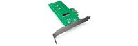 ICY BOX IB-CVB513 Eingebaut SATA Schnittstellenkarte/Adapter (Grün)