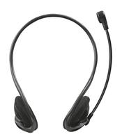 Trust 21666 Binaural Kopfband Schwarz Headset (Schwarz)