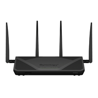 Synology RT2600AC Dual-band (2.4 GHz / 5 GHz) Gigabit Ethernet Schwarz WLAN-Router (Schwarz)