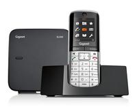 Gigaset SL350 DECT-Telefon Schwarz, Silber (Schwarz, Silber)