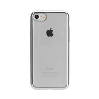 Xqisit 26956 4.7Zoll Abdeckung Silber Handy-Schutzhülle (Silber, Transparent)