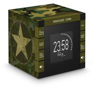 Bigben Interactive RR70PARMY Uhr Digital Schwarz, Grün Radio (Schwarz, Grün)
