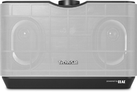 TechniSat AudioMaster MR2 60W Schwarz, Silber Lautsprecher (Schwarz, Silber)