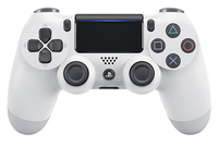 Sony DualShock 4 Gamepad PlayStation 4 Weiß (Weiß)