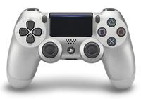 Sony DualShock 4 Gamepad PlayStation 4 Silber (Silber)