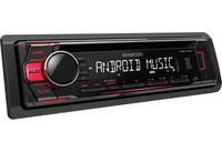 Kenwood KDC-110UR 200W Schwarz, Rot Auto Media-Receiver (Schwarz, Rot)