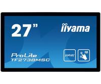 iiyama ProLite TF2738MSC-B1 27Zoll 1920 x 1080Pixel Multi-touch Schwarz Touchscreen-Monitor (Schwarz)