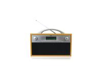 Xoro DAB 200 Tragbar Digital Schwarz, Grau, Holz Radio (Schwarz, Grau, Holz)