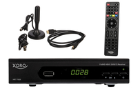 Xoro HRT 7620 KIT Kabel, Terrestrisch Full-HD Schwarz TV Set-Top-Box (Schwarz)