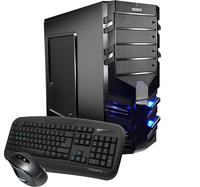 Hyrican Alpha Gaming 5452 3GHz i5-7400 Tower Schwarz PC (Schwarz)