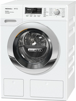 Miele WTH730 WPM Freistehend Frontlader A Chrom, Weiß (Chrom, Weiß)