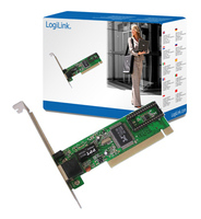 LogiLink PCI network card (Grün)