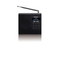 Lenco PDR-020 Tragbar Analog & digital Schwarz Radio (Schwarz)