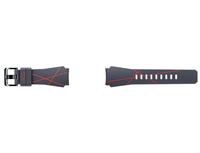 Samsung Arik Levy ET-YSI76 Band Grau, Rot Silikon, Edelstahl (Grau, Rot)