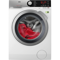 AEG L8FE76695 Freistehend Frontlader 9kg 1600RPM A+++ Weiß Waschmaschine (Weiß)