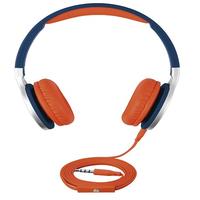ISY IHP 1600 Kopfband Binaural Verkabelt Blau Mobiles Headset (Blau)
