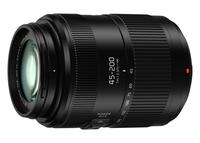 Panasonic Lumix G X Vario H-FSA45200E SLR Telephoto zoom lens Schwarz (Schwarz)