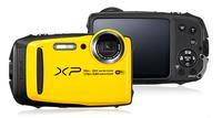 Fujifilm FinePix XP120 Kompaktkamera 16.4MP 1/2.3Zoll CMOS 4608 x 3456Pixel Schwarz, Gelb (Schwarz, Gelb)