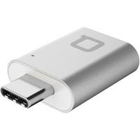 nonda USB-C/USB 3.0-A USB 3.0-C USB 3.0-A Silber Kabelschnittstellen-/adapter (Silber)