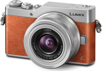 Panasonic Lumix DC-GX800 + 12-32mm f/3.5-5.6 Systemkamera 16MP Live MOS 4592 x 3448Pixel Silber (Orange, Silber)