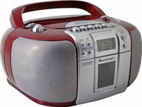 Soundmaster SCD5406RO Digital Rot, Silber CD-Radio (Rot, Silber)