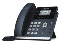 Yealink SIP-T42S Kabelgebundenes Mobilteil 12Zeilen LCD Schwarz IP-Telefon (Schwarz)