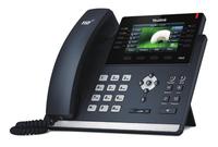 Yealink SIP-T46S Kabelgebundenes Mobilteil 16Zeilen LCD Schwarz IP-Telefon (Schwarz)